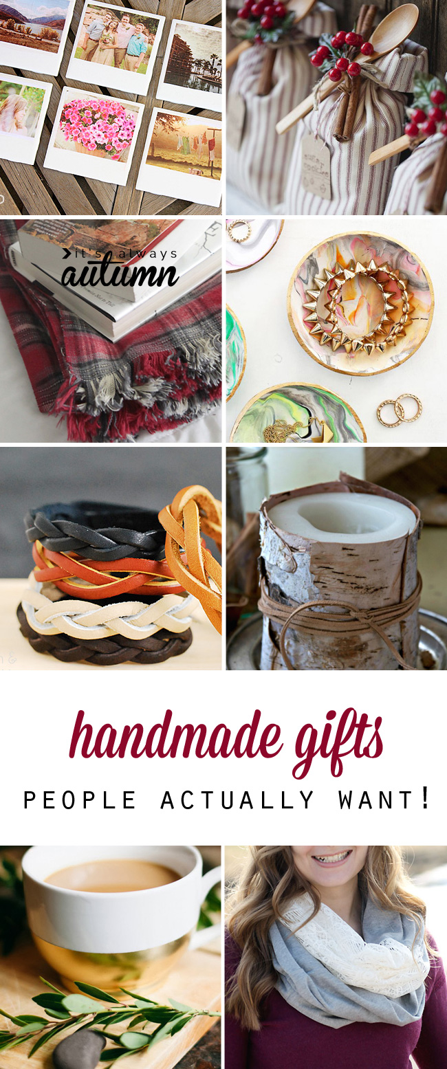 25 amazing handmade gifts that people actually want!