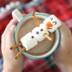marshmallow snowman {make a hot chocolate buddy!}