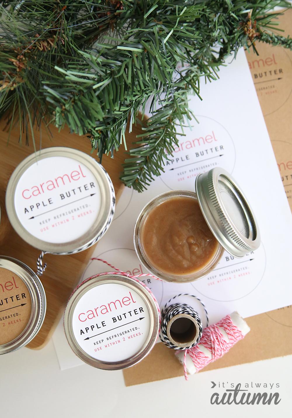 crockpot caramel apple butter | DIY gift idea - It's ...