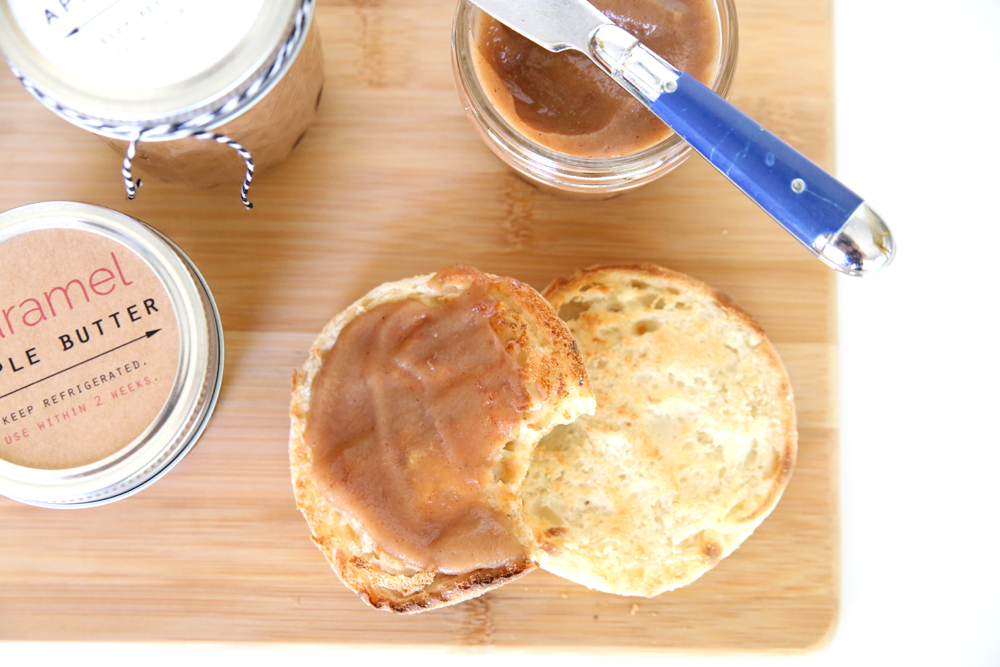 This recipe for caramel apple butter