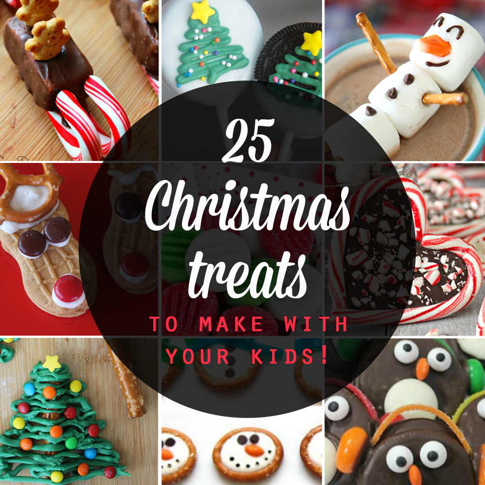25 Adorable Christmas Treats To Make With Your Kids Its Always Autumn