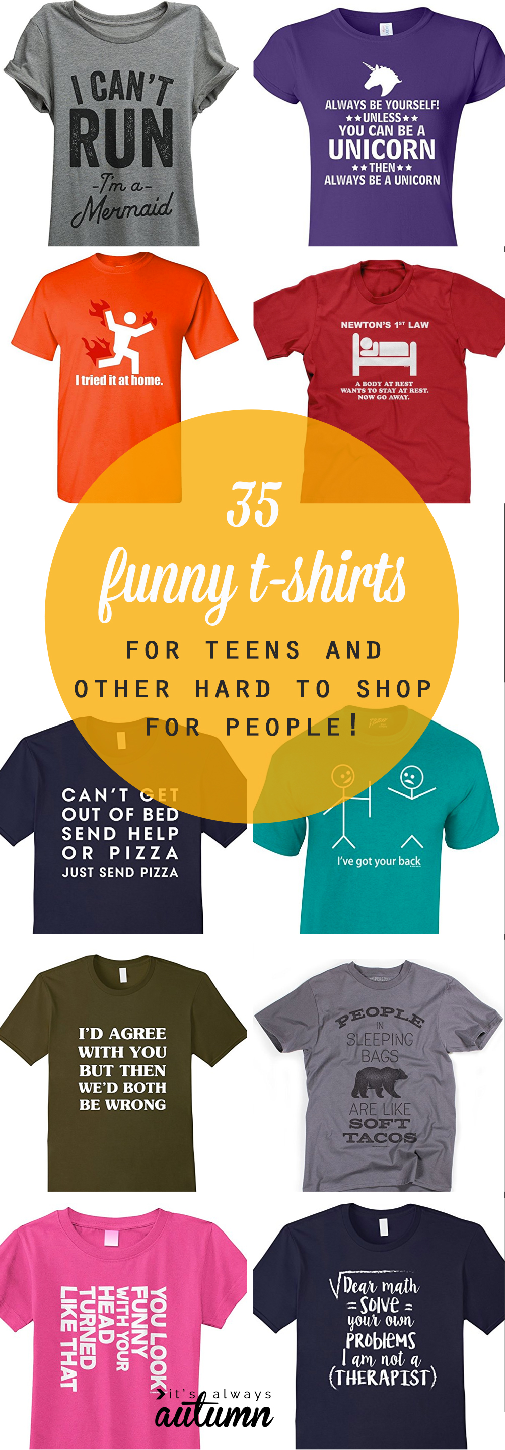 617c7f26 funny t-shirts for teens + other hard to shop for people - It's ...
