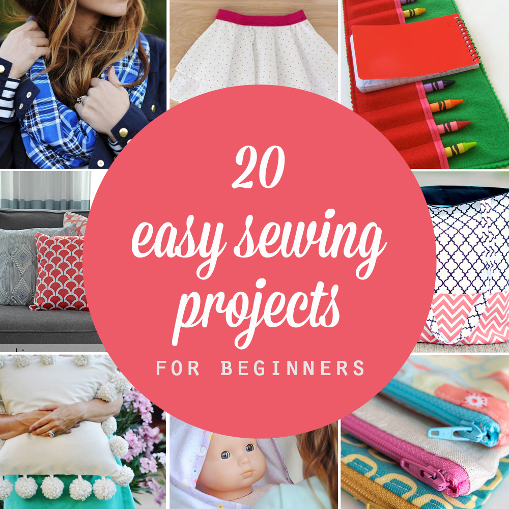 13bb1b0b 20 easy beginner sewing projects that turn out super cute! - It's Always  Autumn