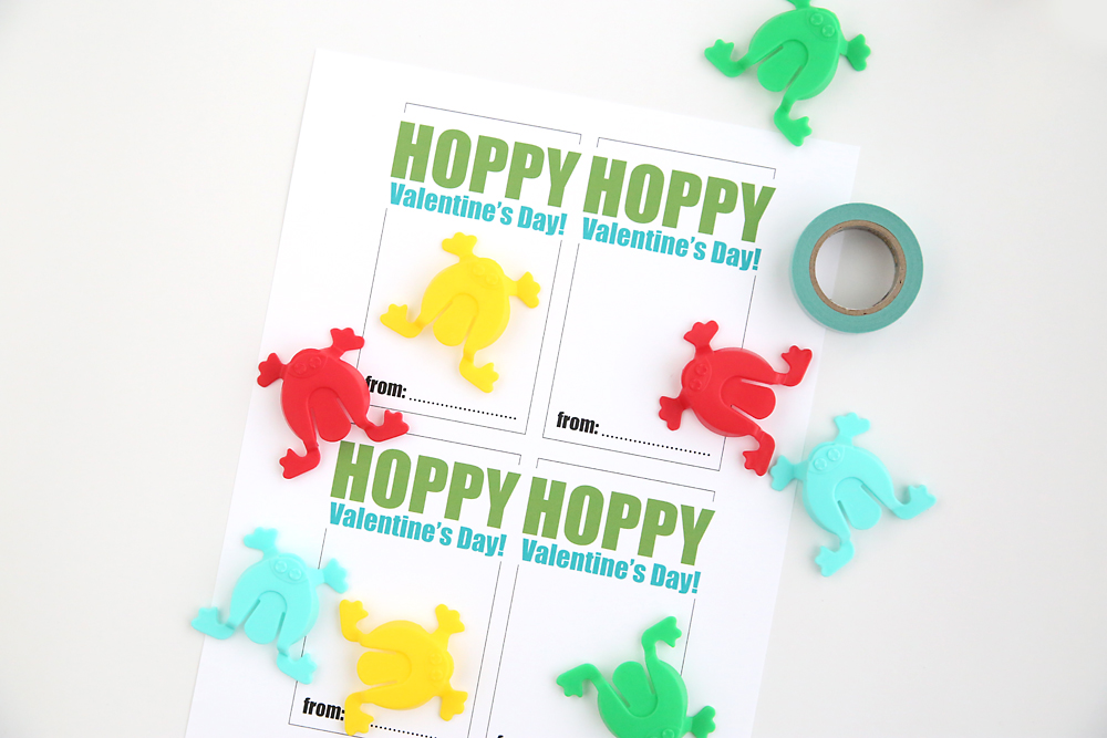 hopping frogs free printable Valentines Day cards Its Always – Cheap Valentine Cards