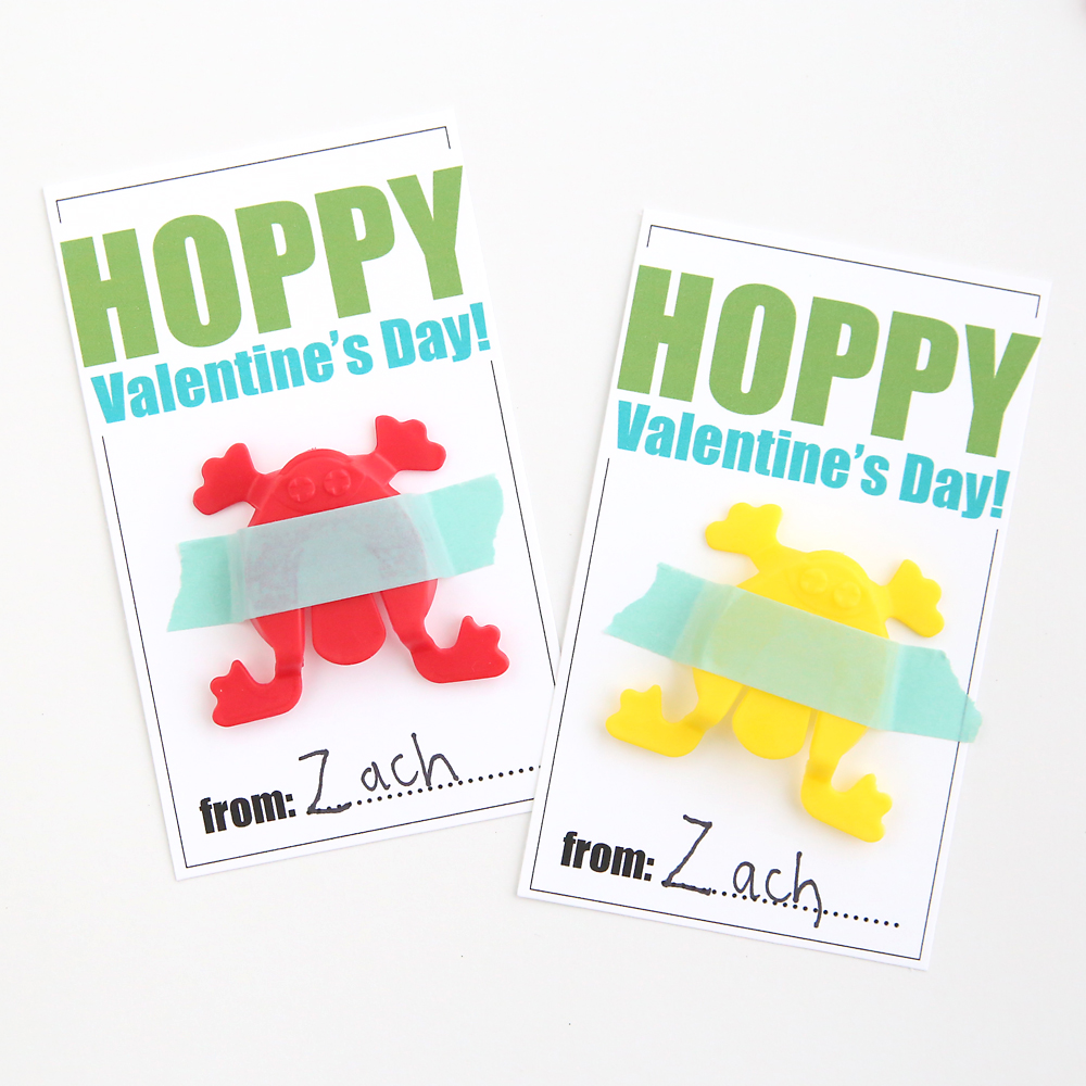 Hopping Frogs Free Printable Valentine S Day Cards It S Always Autumn