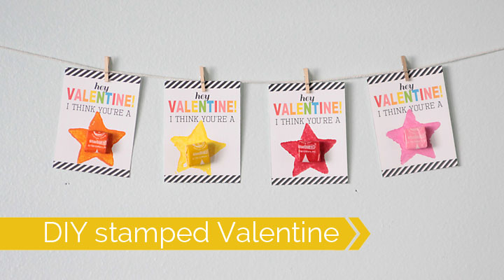 valentine-card-make-with-kids-stamps-paint-starburst