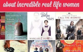 seven books about incredible real life women