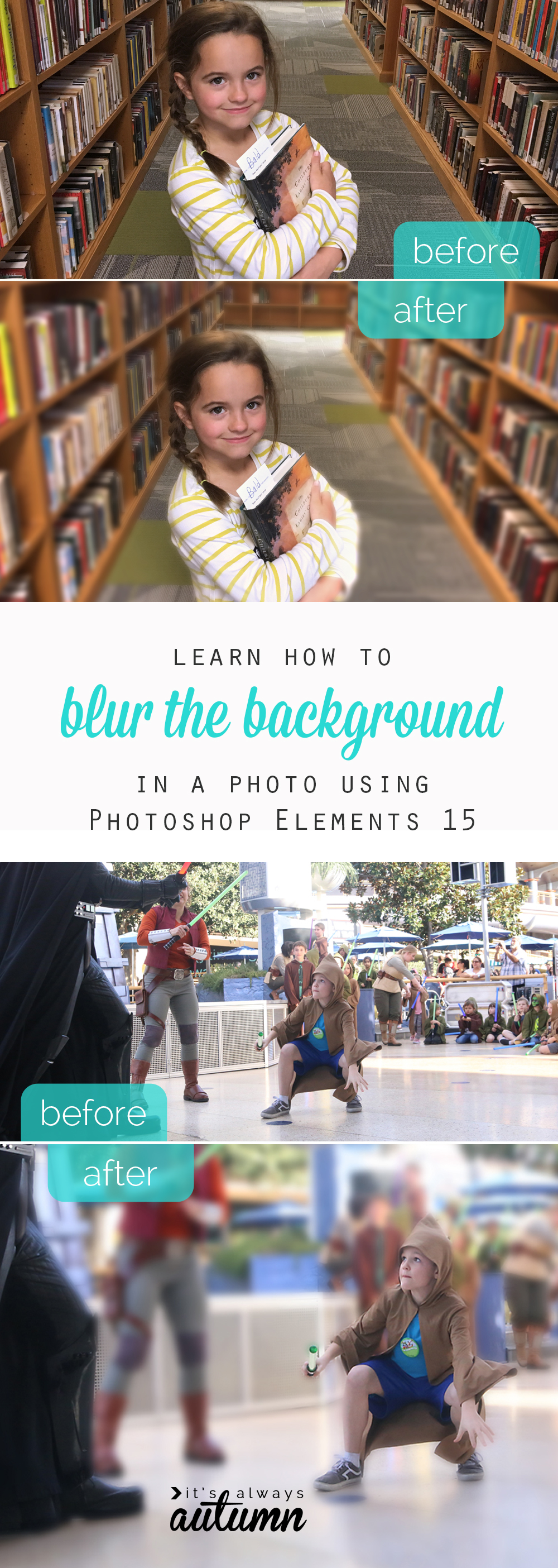 This is so cool! There's an easy way to add background blur (or bokeh) to your photo in post processing! Easy photo editing tips.
