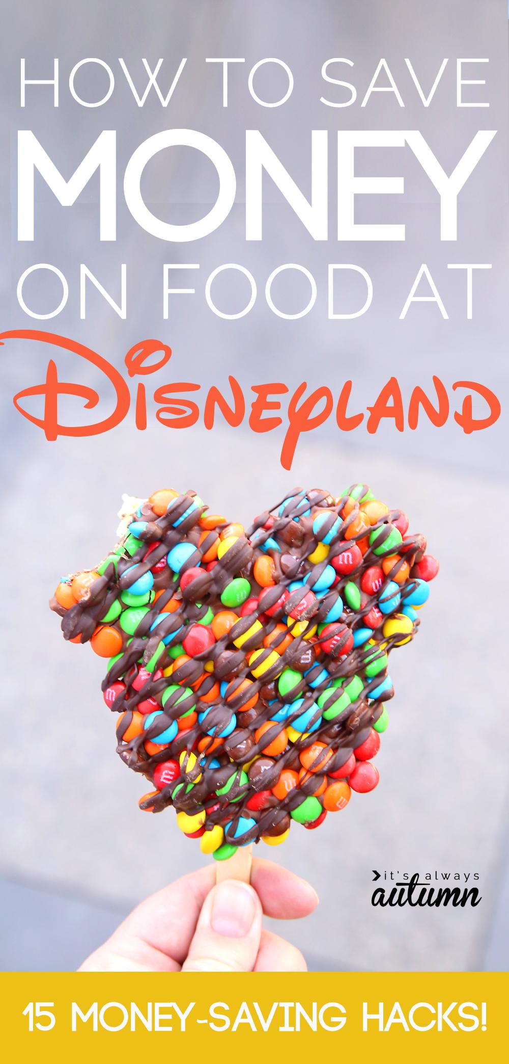 best hacks for saving money on food at Disneyland - It's