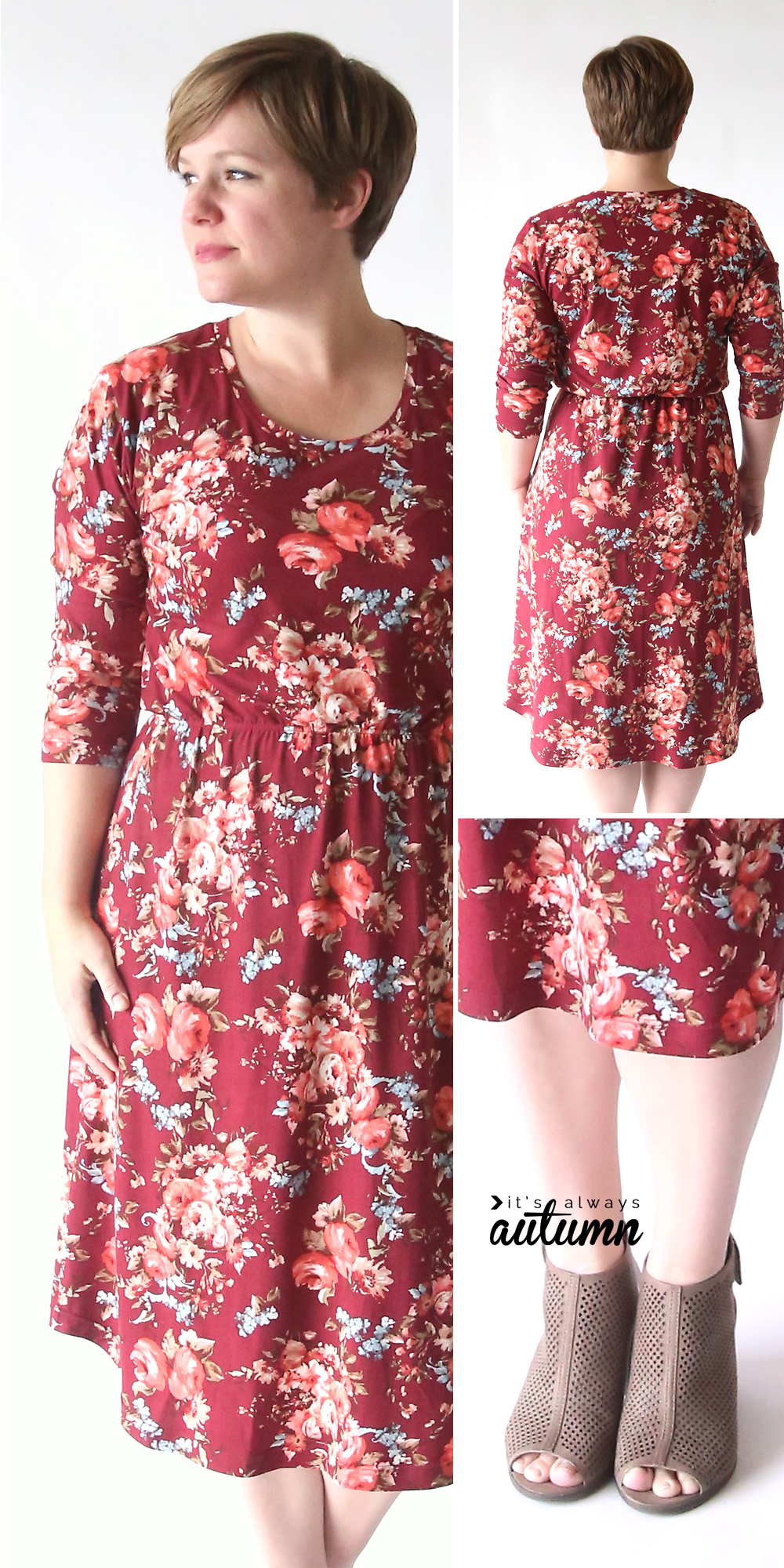 Cute dress patterns for women