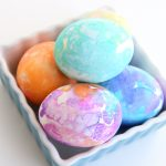 tissue paper Easter eggs {so easy!}