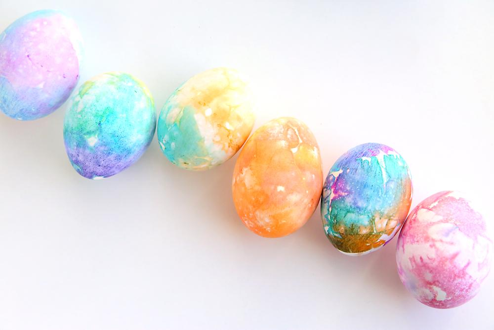 Tissue Paper Easter Eggs So Easy It 39 S Always Autumn