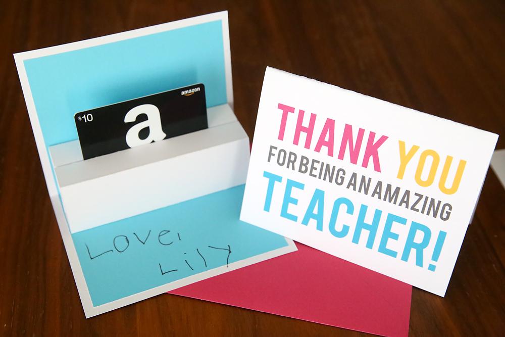 Diy Teacher Appreciation Pop Up Gift Card Holder It S Always Autumn