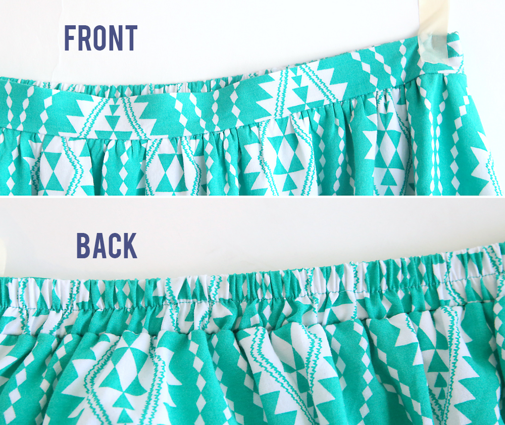 The Perfect Flattering Gathered Skirt For Summer It S