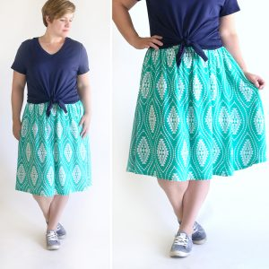 http://www.itsalwaysautumn.com/wp-content/uploads/2017/05/flattering-gathered-skirt-sewing-tutorial-flat-front-waist-elastic-back-how-to-sew-women-easy-summer-skirt-3-300x300.jpg