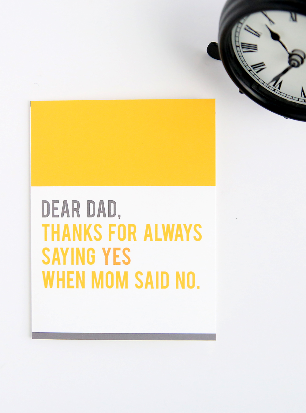 Funny Father's Day cards! Free printable cards for Dad. Perfect for a last minute Father's Day gift! Funny cards for Dad that you can print at home.