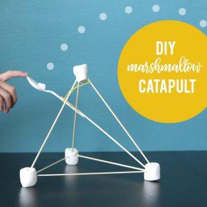 Make a kids' marshmallow launcher {aka marshmallow catapult}