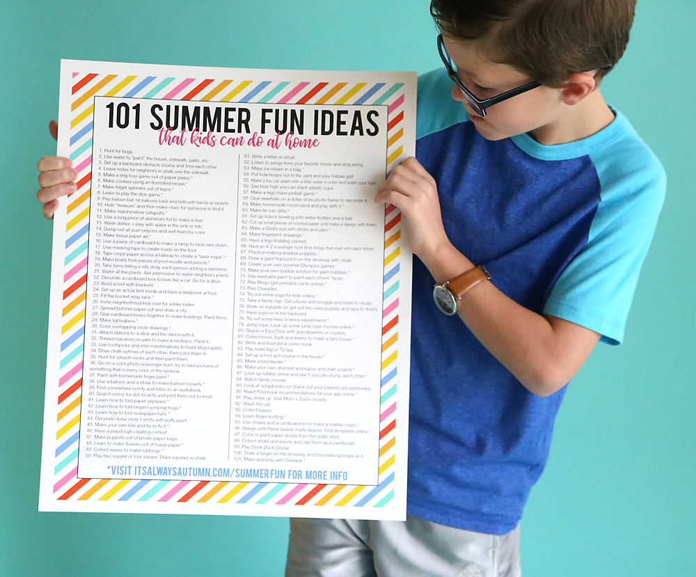 101 Summer Fun Ideas For Kids These Are Easy Cheap Games