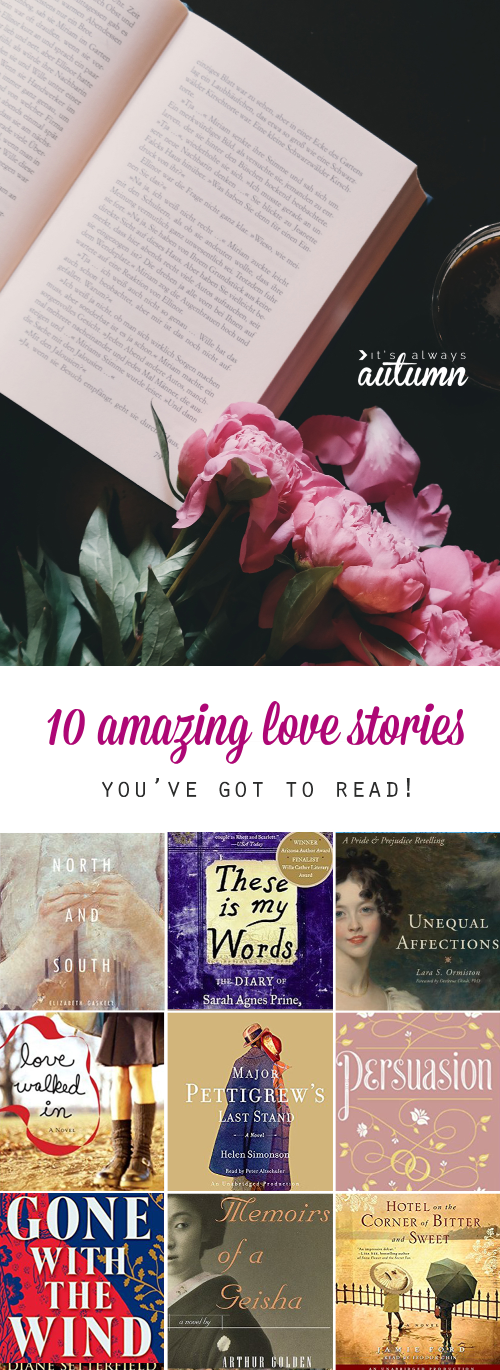 10 fantastic love stories perfect for reading this summer its 10 amazing love stories these are the best romantic novels ten books with such voltagebd Image collections