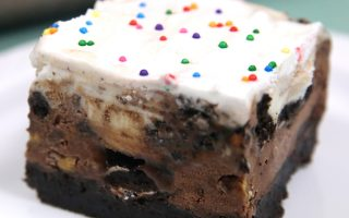 brownie bottom ice cream cake recipe