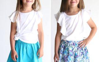 easy reversible pom pom skirt sewing tutorial