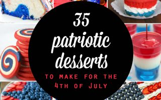 20 red, white and blue desserts for the Fourth of July