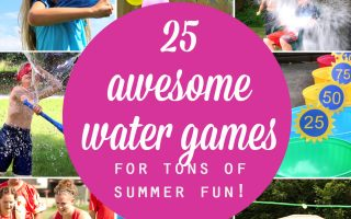 25 water games your kids can play this summer