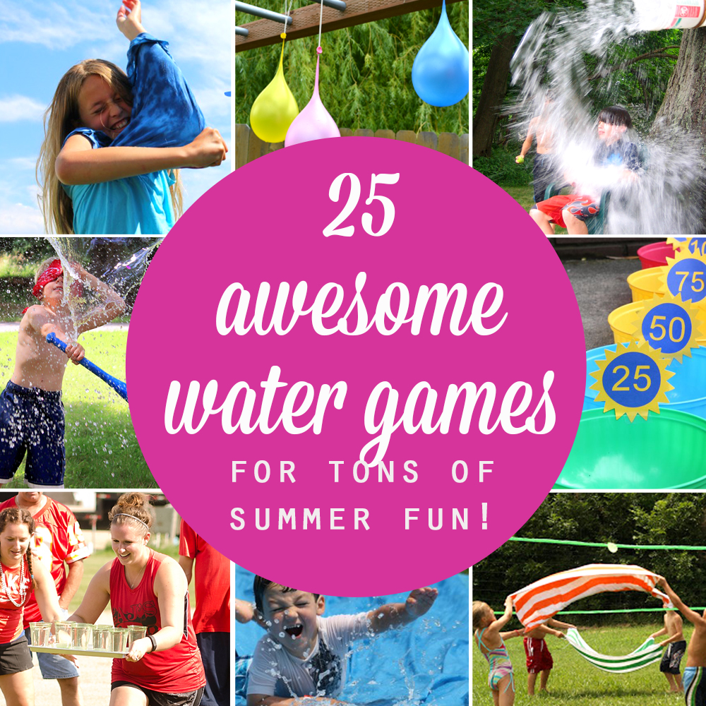 25 water games your kids can play this summer it 39 s for Fun balloon games for kids