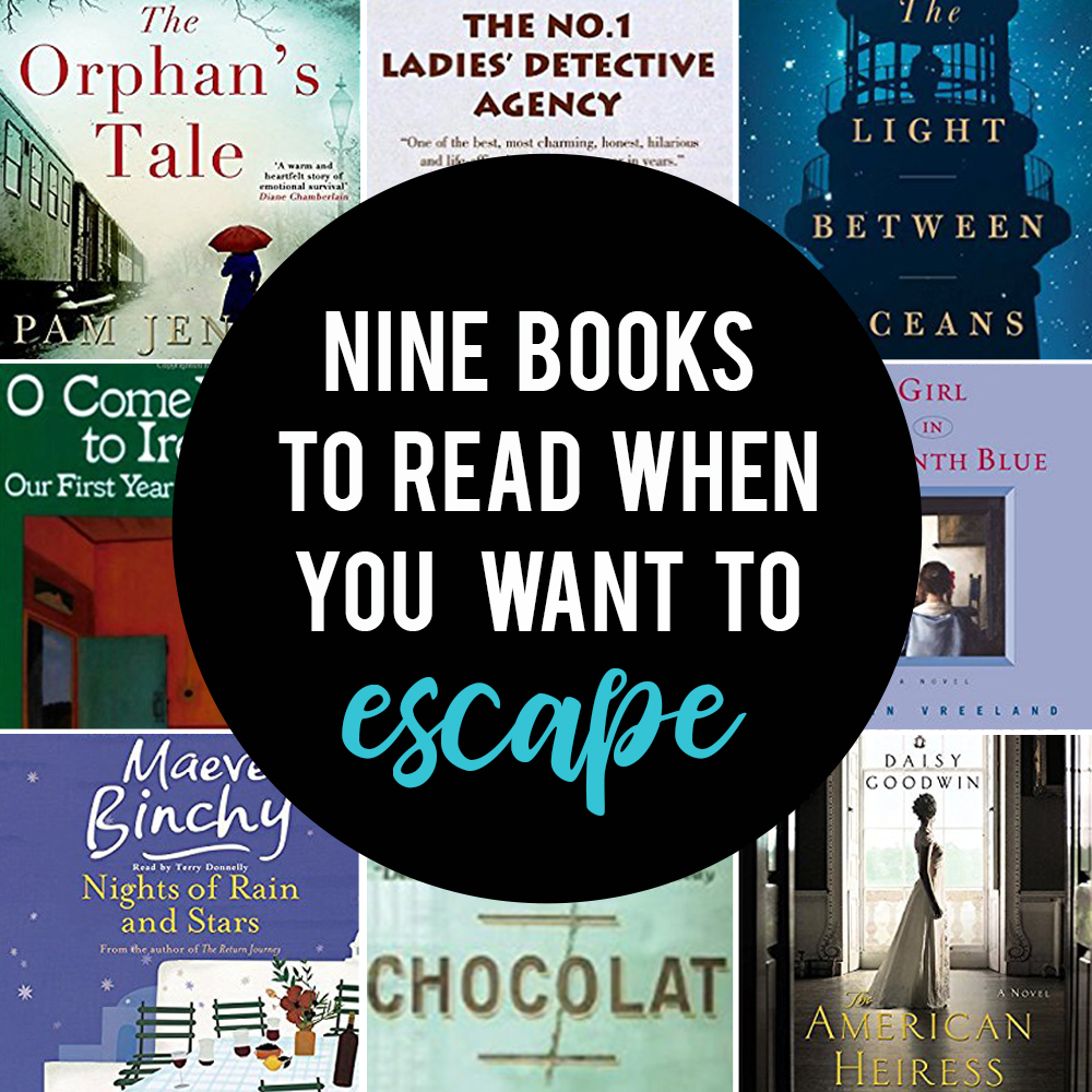 Great list of books set somewhere far away, perfect for reading when you want an escape!