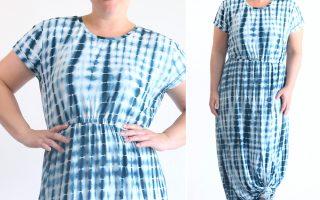 the classic tee cap sleeve maxi dress
