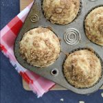 These instant oatmeal muffins are a delicious easy breakfast. The oatmeal gives them great texture and flavor! Quick breakfast recipe idea.