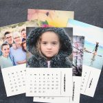 photo calendar magnets {free 2018 templates}