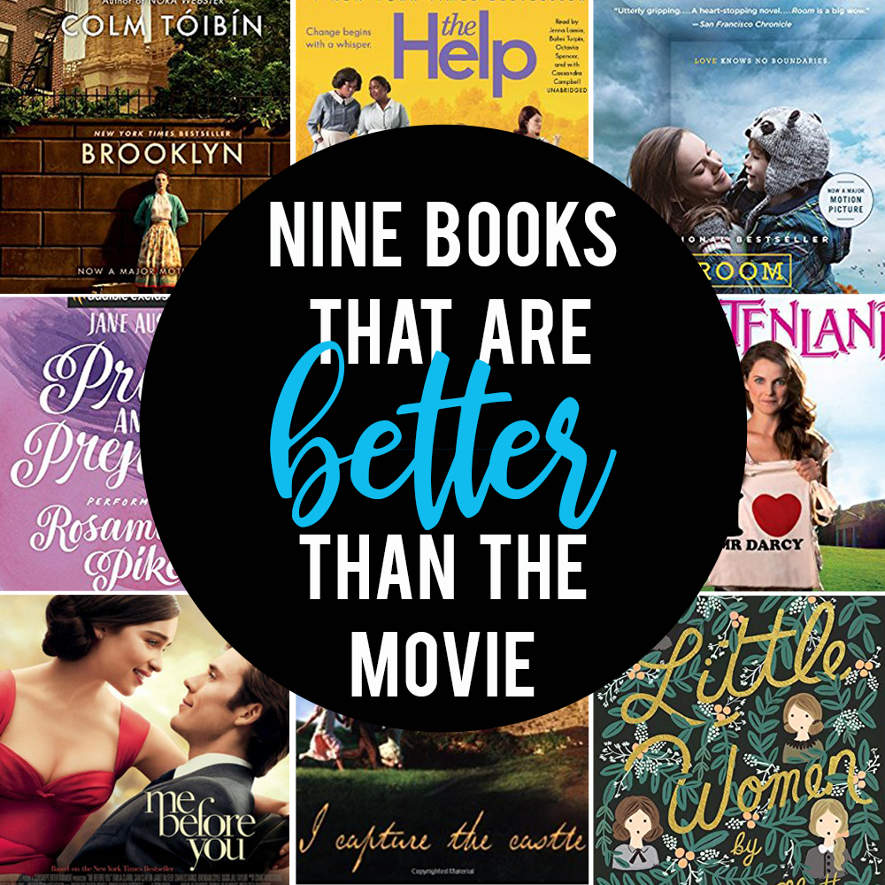 9 fantastic books that are better than the movie!