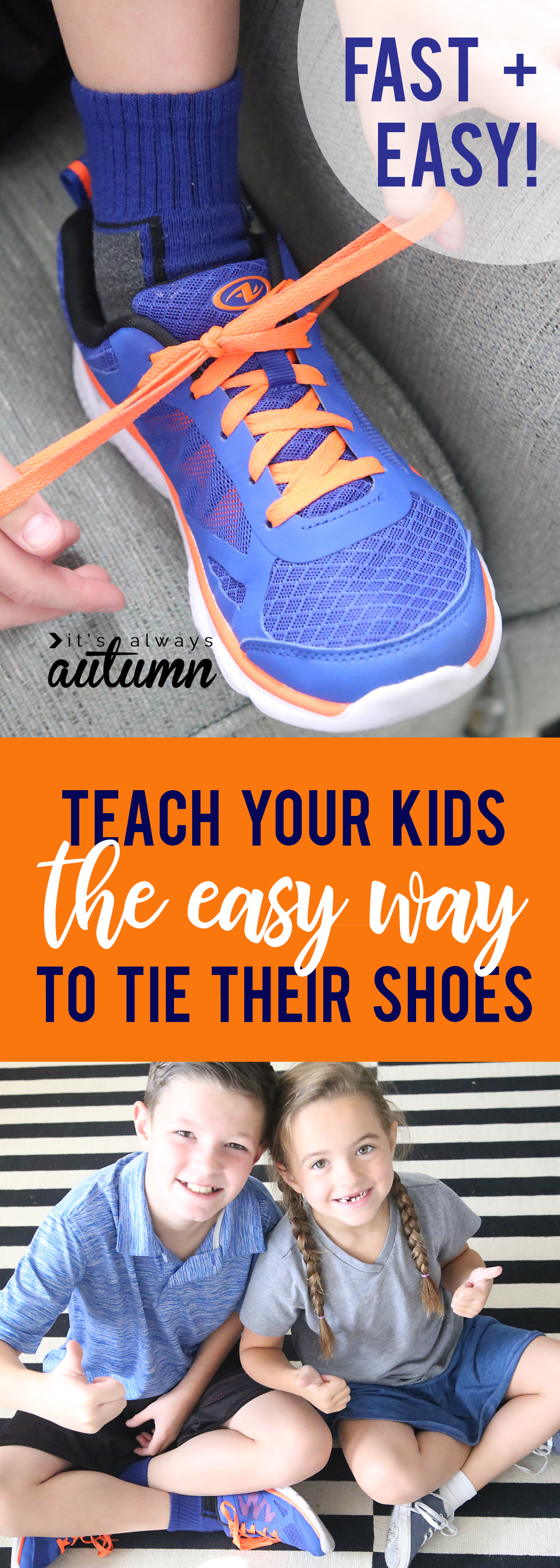 the fast easy hack to tie your shoes it s always autumn
