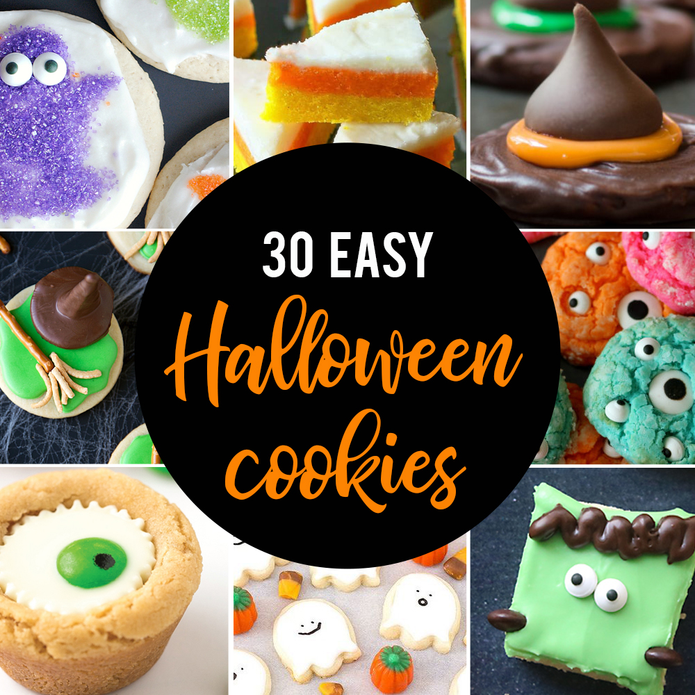 the Mega List of Easy Halloween Cookies
