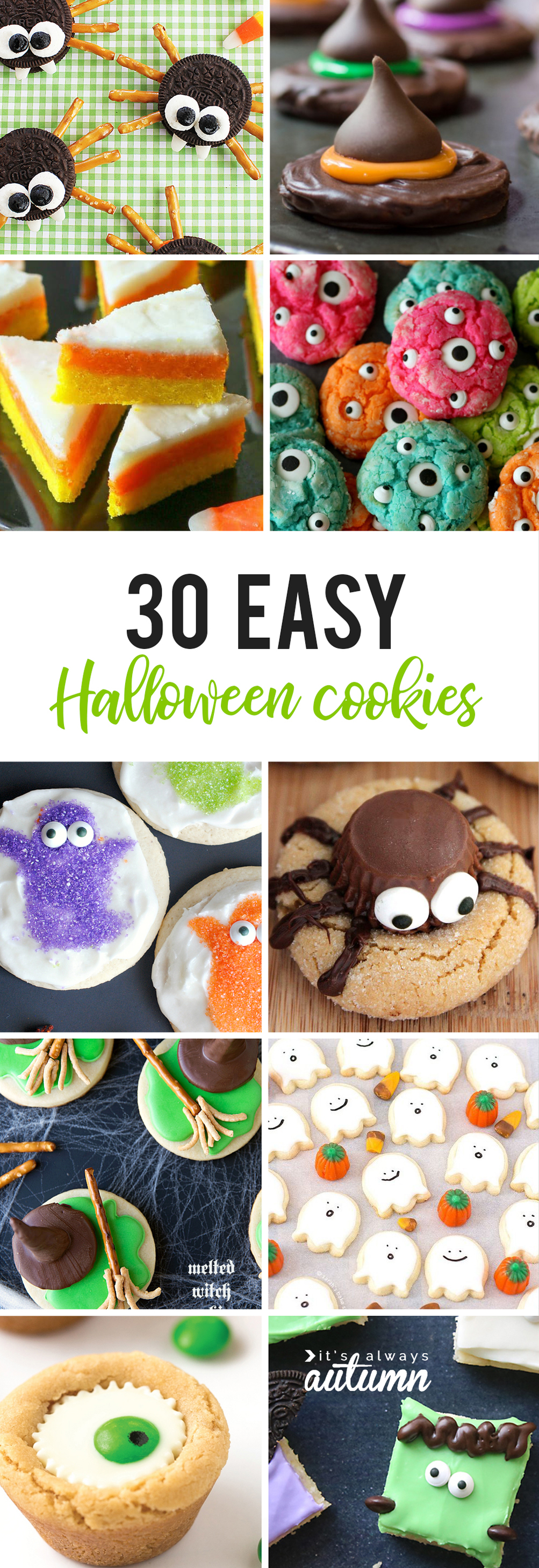 30 easy halloween cookie recipes to make with your kids best halloween cookies