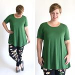 free swing tunic sewing pattern {perfect for leggings!}