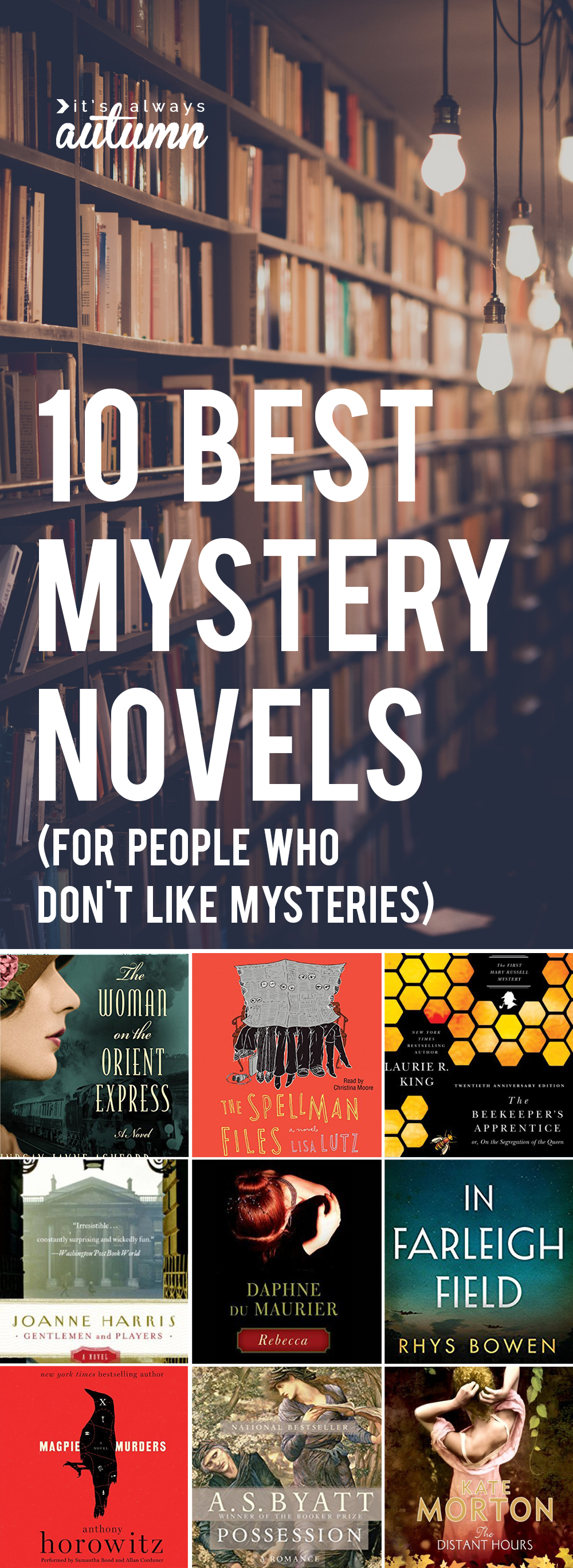 the best mystery writers