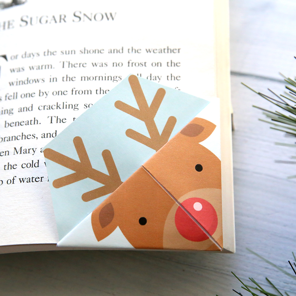 Christmas Images To Print.Printable Christmas Origami Bookmarks It S Always Autumn