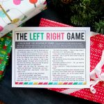 the Christmas left right game (w/printable story)