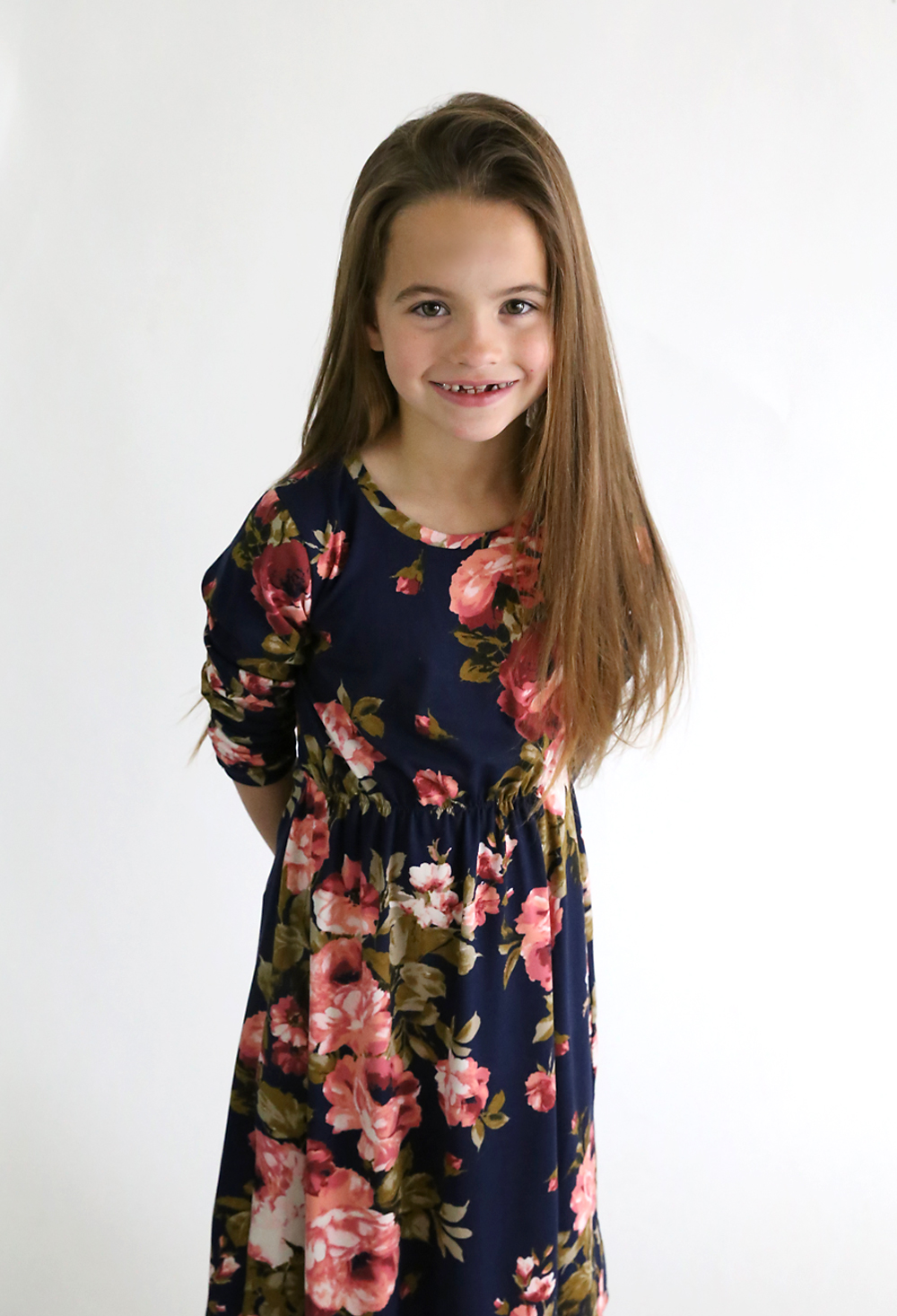 How to make a girls midi dress without a pattern its always autumn how to make a cute midi dress for a girl in any size without a pattern jeuxipadfo Image collections