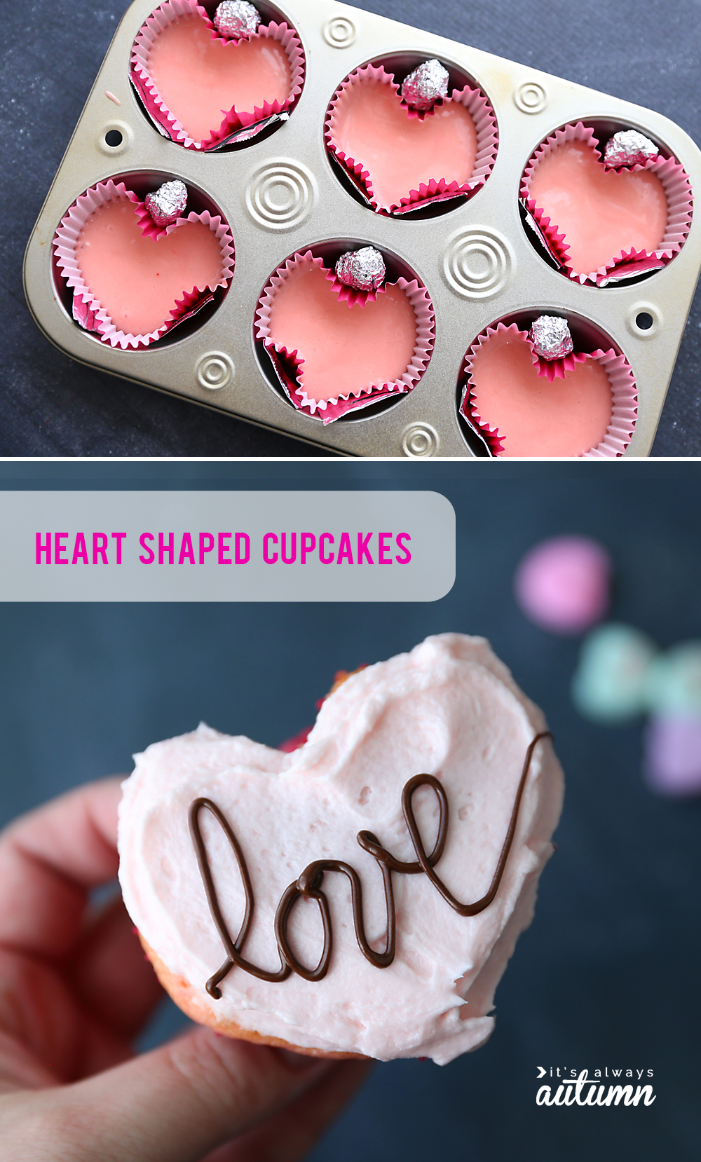 Make A Heart Shaped Cake For Valentine S Day Four