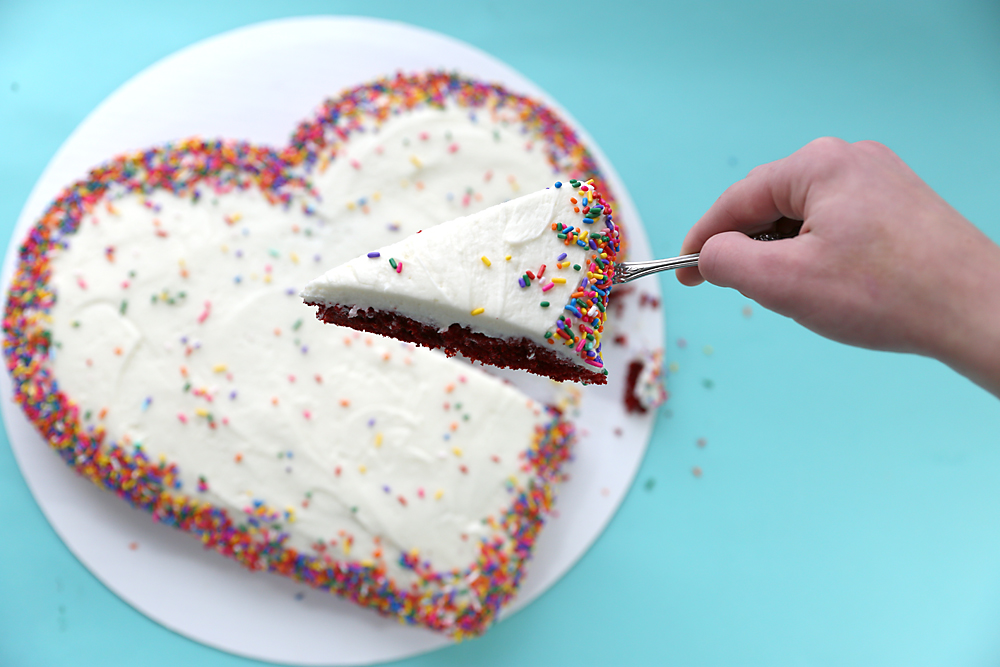 how to make a heart shaped cake make a shaped cake for s day four 4957