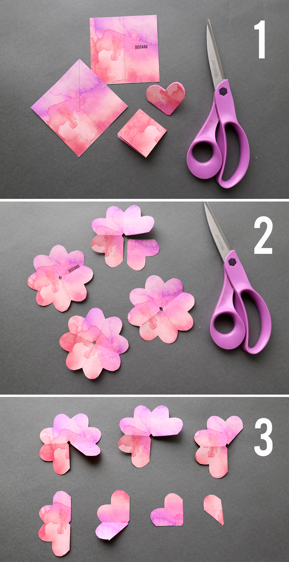 Diy Paper Flower Tutorial Step By Step Instructions Flowers Healthy
