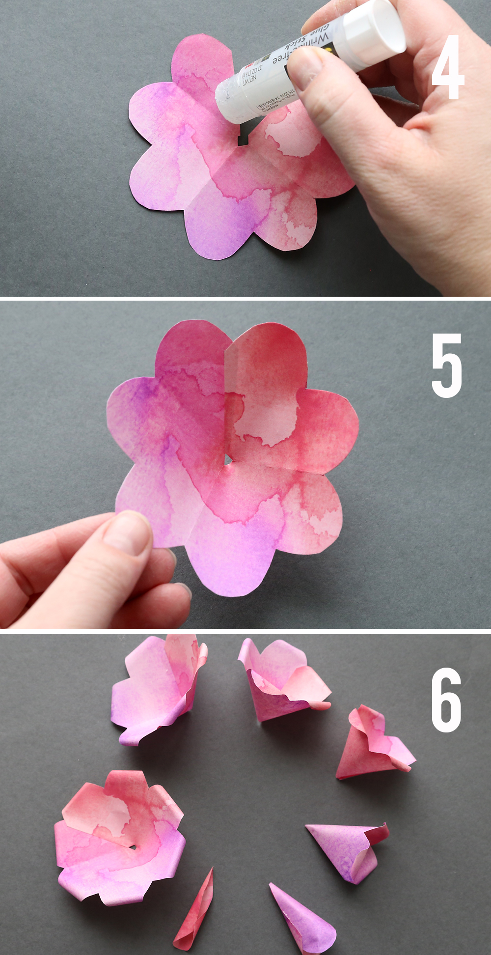 Make gorgeous paper roses with this free paper rose template its learn how to make paper roses with these beautiful paper rose template step by step mightylinksfo