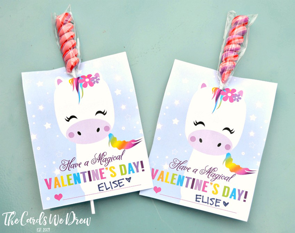 35 Adorable Diy Valentine S Cards To Print At Home For Your Kids