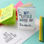 Foldables: Make an 8-page mini book from one sheet of paper!