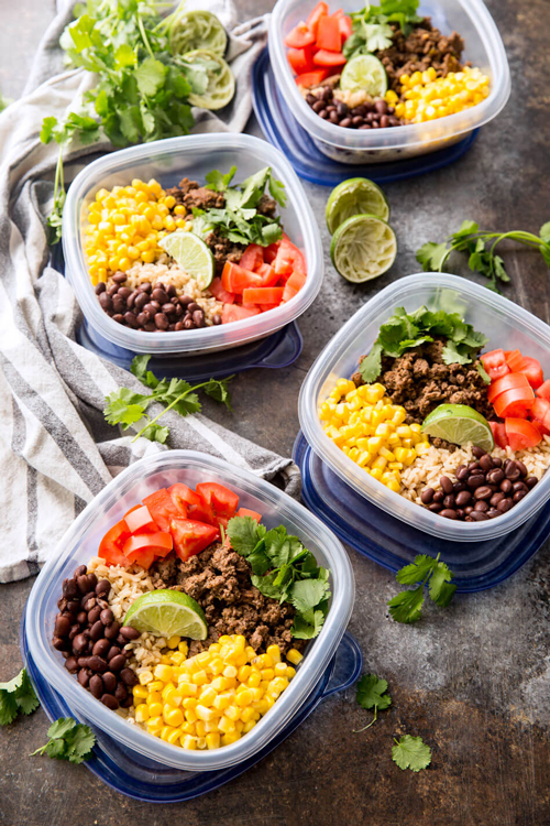 TONS Of Healthy Meal Prep Recipes Click Through For Easy You Can Make Ahead