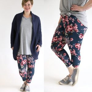 How to sew super soft leggings at home {the best pattern + fabric}
