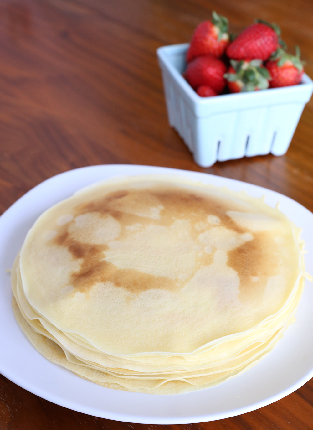 How to make perfect crepes every time! The best easy crepe recipe and simple instructions for how to use a crepe maker.